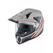Casque cross Held Makan gris