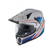 Casque cross Held Makan bleu