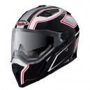 Casque moto intégral Caberg STUNT BLADE blanc/noir/rouge