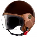 CASQUE LS TRENDY VISION TABAC BRILLANT