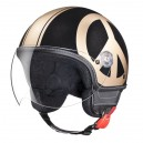 CASQUE MOSCHINO PEACE & LOVE NOIR