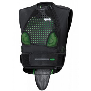 Gilet de protection Held KELTOR noir/vert