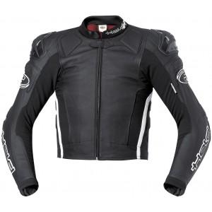 Blouson cuir moto Held Safer noir