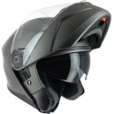 Casque moto modulable IOTA MP10 gris mat