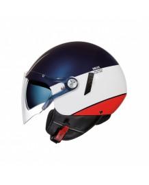 Casque Jet NEXX X.60 Smart2 Bleu/Blanc/Rouge