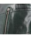 Blouson cuir SOUBIRAC Frisco vert