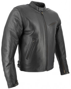 Vest cuir SOUBIRAC Enzo noir