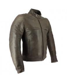 Vest cuir SOUBIRAC Bryce marron