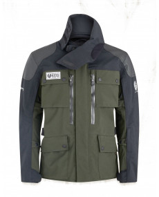Veste Belstaff Long Way Up Gore-Tex PRO Noir/Olive