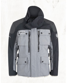 Veste Belstaff Long Way Up Gore-Tex PRO Noir/Gris