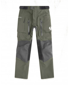 Pantalon Belstaff Long Way Up Gore-Tex PRO Olive/Noir
