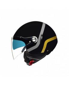 Casque Jet NEXX X.60 Vice Noir brillant